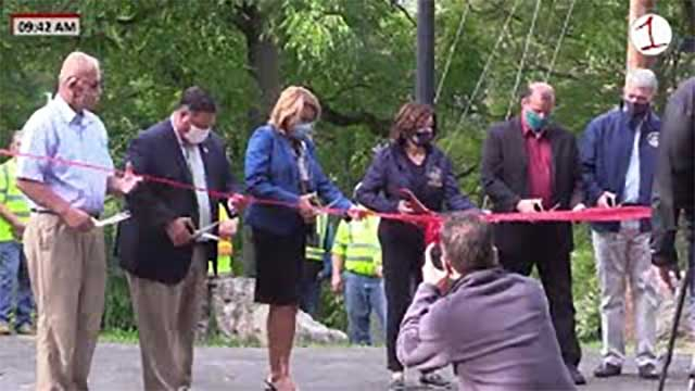 WATCH: Village of Newark Erie Canal Trail Ribbon Cutting (video)