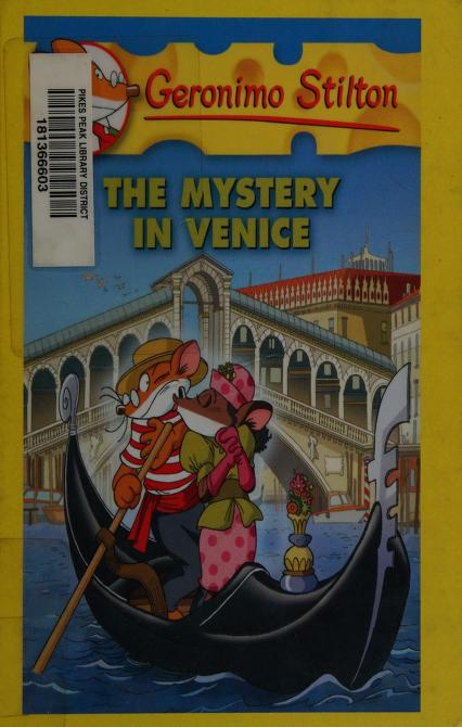 Geronimo Stilton The Mystery in Venice by